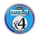 DUEL ( デュエル ) PEライン 釣り糸 HARDCORE X4 マーキングシステム/10m×5色 【 ライン 釣りライン 釣具 高強度 高感度 】