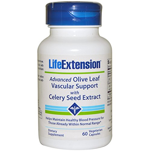 Advanced Olive Leaf Vascular Support with Celery Seed Extract 60 Vegetarian Capsules-Pack-2