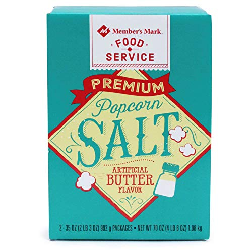 For Sale! Member's Mark Popcorn Salt 35 oz., 2 ct. A1