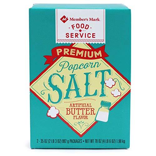 Lowest Prices! Member's Mark Popcorn Salt 35 oz., 2 ct. (pack of 4) A1