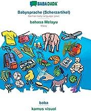BABADADA, Babysprache (Scherzartikel) - bahasa Melayu, baba - kamus visual (German Edition)