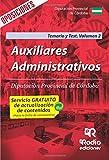 Auxiliares Administrativos. Diputación Provincial de Córdoba. Temario y Test. Volumen 2