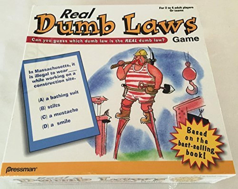 Real Dumb Laws Game by Pressman Real Dumb Laws Game