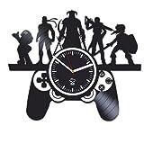 Kovides Online Games, Sony Play Station, Best Gift for Gamer, Boyfriend, Vinyl Record Clock, Vinyl Wall Clock, Home Decor, Comics Marvel, Silent Mechanism, Wall Clock Large, Birthday Gift
