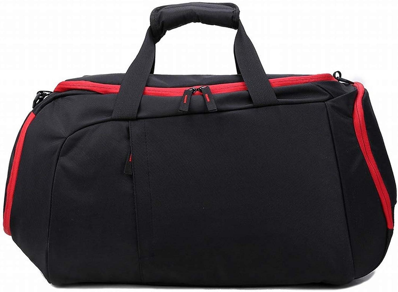 0731caf92d5bd Ovesuxle Fitness Sporttasche Basketballtasche Reisetasche Reisetasche mit  Schuhfach Schwarz Schwarz Schwarz B07Q9JX9L7 Zuverlässige Leistung 6844f9