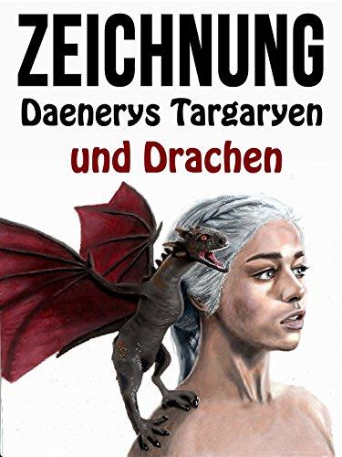 Clip: Zeichnung Daenerys Targaryen und Drachen