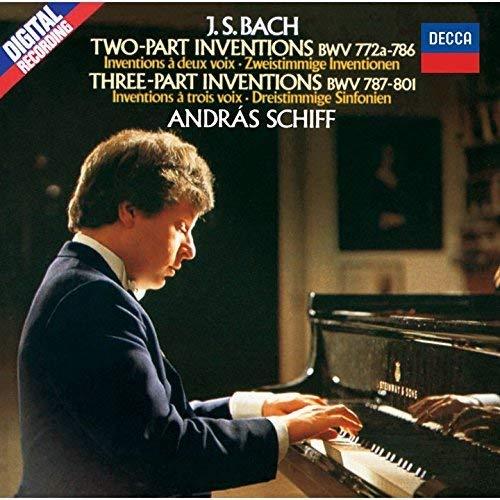 J.S.バッハ:2声・3声のインヴェンション、4つのデュエット、他(SHM-CD)