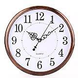 Tosnail 30 cm Orologio da Parete di Silenzioso Stile Vintage...