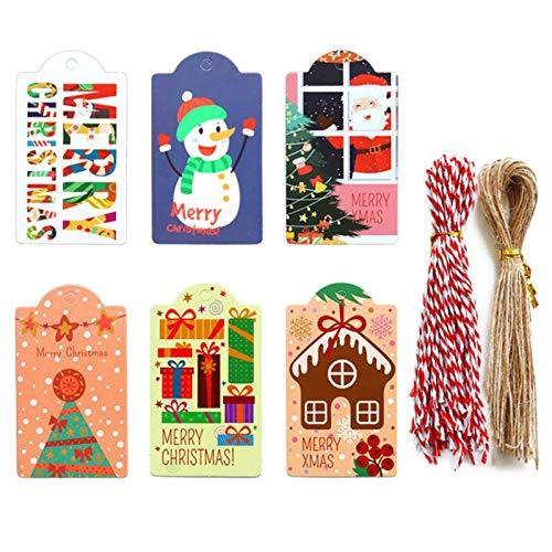 Etiquetas para Regalos de Navidad Marca Dulau