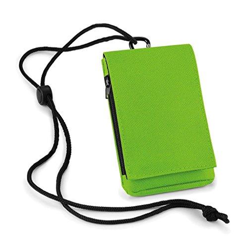 Bag Base BG046LIME Étui pour téléphone Mixte, Vert Citron, m