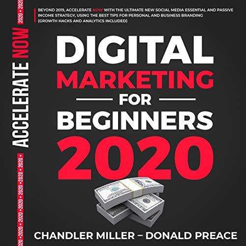 Digital Marketing for Beginners 2020 audiobook cover art