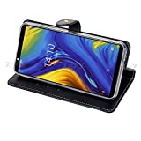 Xgody Cell Phone Leather Case for Xgody Mate RS 6' Wallet Flip Protection Cover Skin Pouch with Card Slot (Navy Blue)