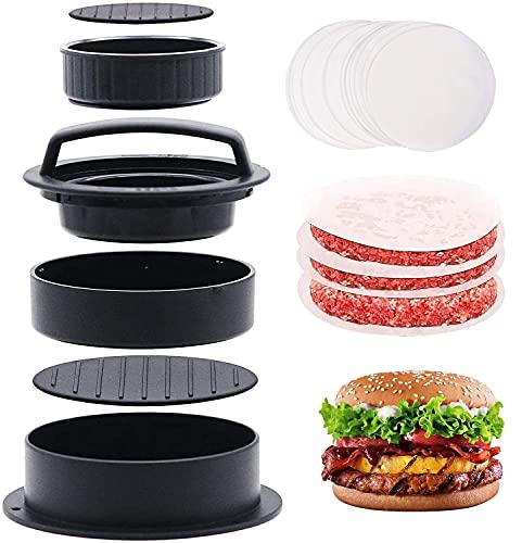Pressa per hamburger 3 in 1, per hamburger e hamburger