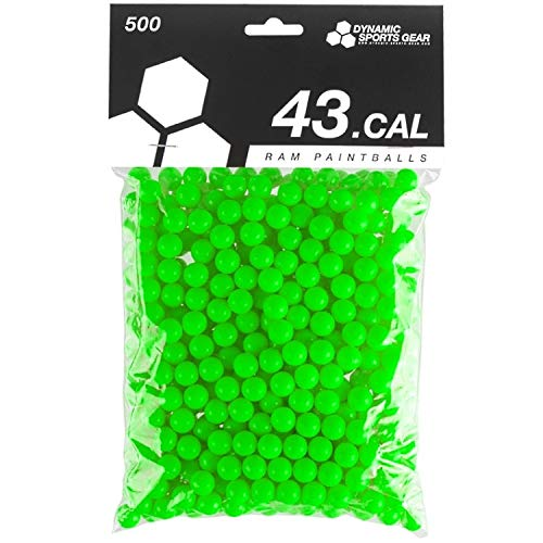 Dynamic Sports DSG RAM Paintballs Cal.43 100 Stück Grün Lime