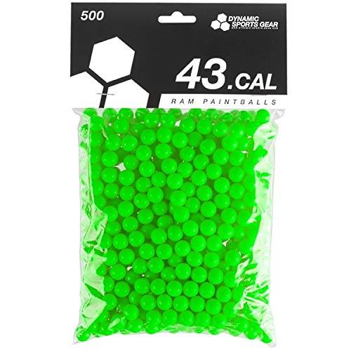 Dynamic Sports DSG RAM Paintballs Cal.43 100 Stück Grün Lime