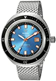 Zodiac Men's Super Seawolf 68 Extreme Swiss-Automatic Watch with Stainless-Steel Strap, Silver, 20 (Model: ZO9502)