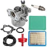 Yermax 799866 790845 Carburetor + 491588S Air Filter Tune Up Kit for 675 675ex 725ex Series Engine 799871 796707 794304