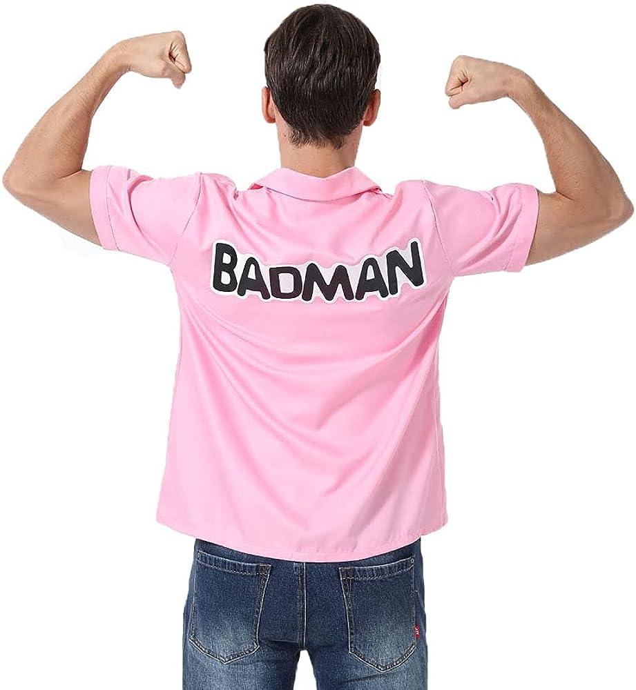 SALENEW very popular Halloween Anime Men's Weekly update Shirt Daily Pink Badman Vegeta
