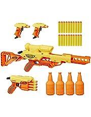 NERF Alpha Strike Battalion Set -- Includes 4 Blasters, 4 Half-Targets, and 25 Official Elite Darts -- for Kids, Teens, Adults