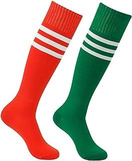 featured product Soccer Socks,  Atrest Unisex Knee High Stripe Sport Long Tube Socks 2-10 Pairs