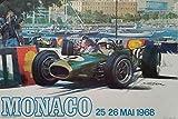 Import Posters Monaco Motor GP 1968 – Vintage Motor