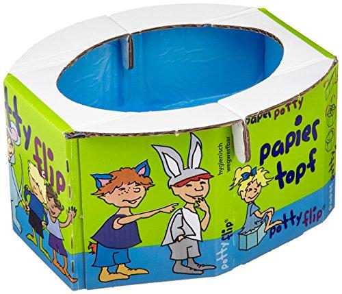 Pottyflip Papiertöpfchen, 3er Pack (3 x 1 Stück)