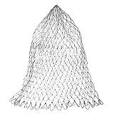 ALEOHALTER Red de pesca de repuesto, red de aterrizaje de nailon, red de pesca de malla de rombo, bolsa de red de repuesto, varios tamaños