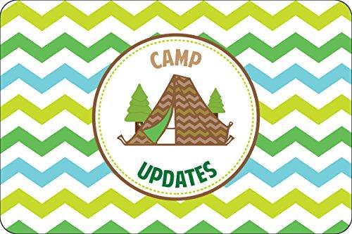 "Camp Ready Camp Postcards   Kid Postcards   Camp Stationery   6"" X 4"" Postcards for Kids"
