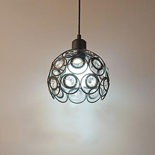 GYP Luminaires pour restaurants à LED Pastoral Crystal Bar individuel créatif Simple Modern Chandelier ( Couleur   A )