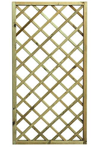 Avanti Trendstore - Ermes - Rankgitter aus imprägniertem Holz, in 3 verschiedenen Größen verfügbar (90x180)