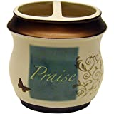Mainstay Butterfly Blessing Decorative Bath Collection - Toothbrush Holder