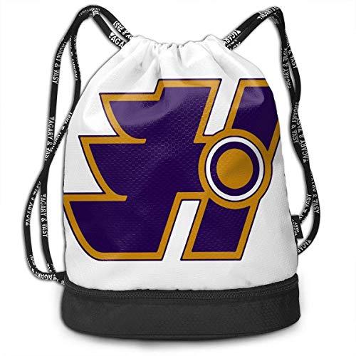 FShopNow Zaino con coulisse Fashion Outdoor Shopping Satchel Rucksack Backpack Bundle Pocket Drawstring Bag Daypack, Sotaski Halifax Highlanders