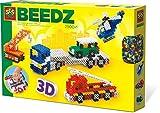SES Creative - 06253 - Beedz - Perles à Repasser - Véhicules3D