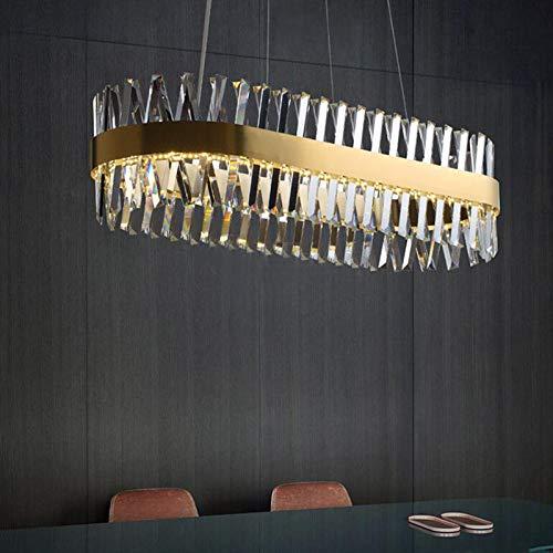 Led Cabeza única Crystal Chandelier,Cobre Color Transparent
