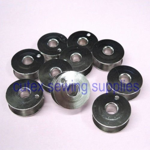 Cutex Brand Metal Bobbins Compatible With Part Number 4011770 for Husqvarna Viking Sewing Machine - Pack of 10