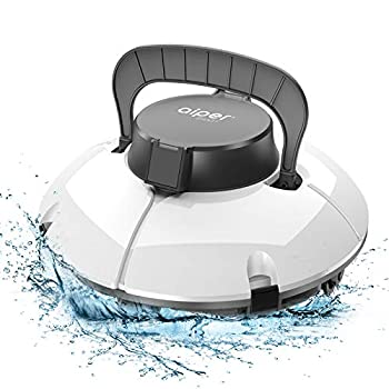 AIPER SMART Cordless Automatic Pool Cleaner Strong Suction with 2pcs Upgraded Motors Lightweight IPX8 Waterproof Auto-dock Robotic Pool Cleaner Ideal for Above/In-ground Flat Pool Up to 538+Sq Ft