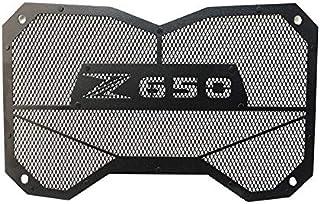 Moto Griglia del radiatore Guardia Protezione Serbatoio Guardia//Misura for Kawasaki Z650 Z 650 2017-2020 Accessori for Moto Color : Black