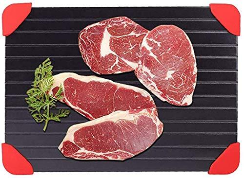SBDLXY Fast Food Fleisch Rapid Thaw Abtautablett Schneller und sicherer Weg zum Auftauen für Tiefkühlkost/Fleisch Schweinefleisch/Rindfleisch Fisch-