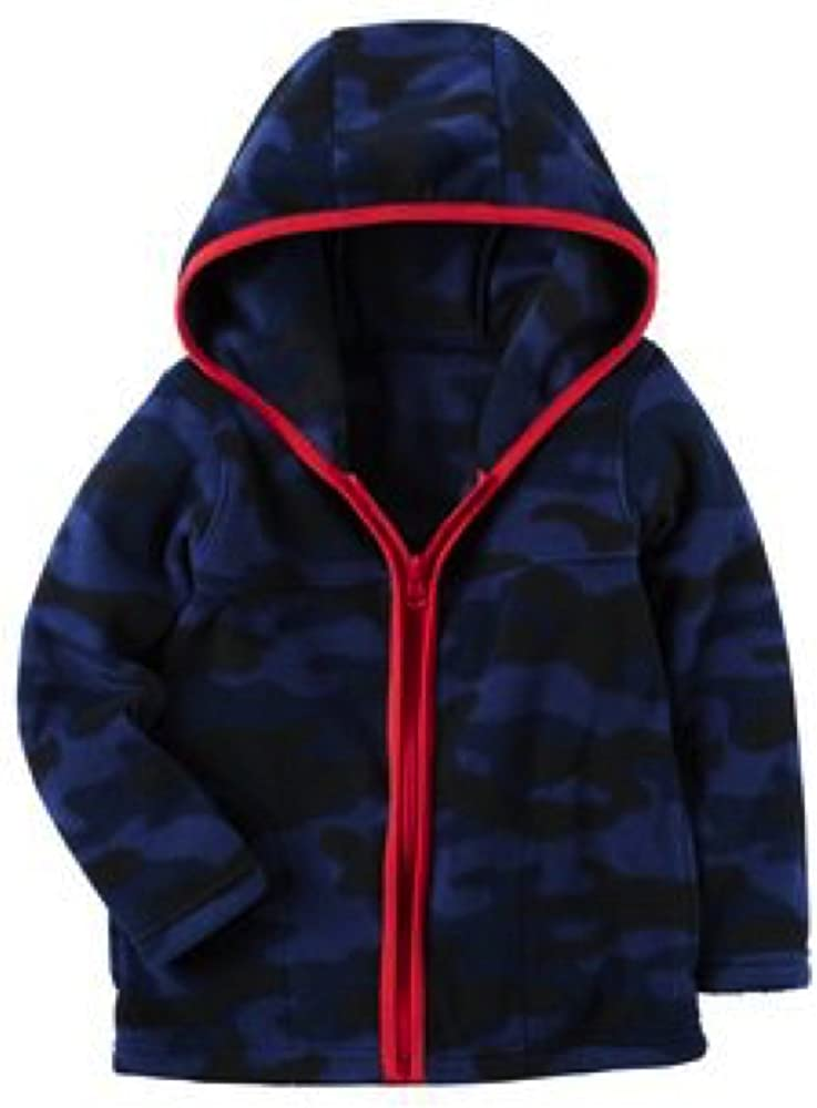 Carter's Boys Classic Fleece Zip-up Colorado Springs Mall Pockets New Orleans Mall Hoodie with 9 Month