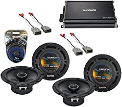 Compatible with Honda CRV 1997-2006 Factory Speaker Replacement Harmony (2) R65 & CXA300.4 Amp (Renewed)