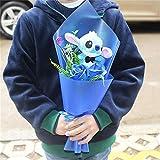 Modèle Stitch Soup Flower Stitch Peluche Jouets Anime Lilo Et Stitch PVC Animal Poupées Kawaii Stich Bouquet Cadeau Romantique Aucune Boîte