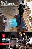 DESKFIT DFT200 Laufband für/unter Schreibtisch – fit und gesund im Büro & zu Hause. Bewegen und ergonomisches Arbeiten, Keine Rückenschmerzen – mit praktischer Tablet-Halterung, Fernbedienung und App - 4