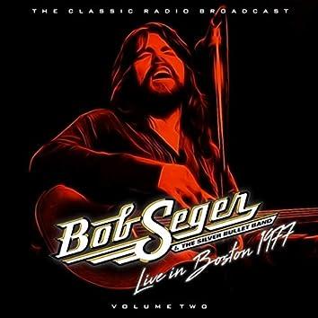 BOB SEGER - BOSTON 77  VOLUME 2