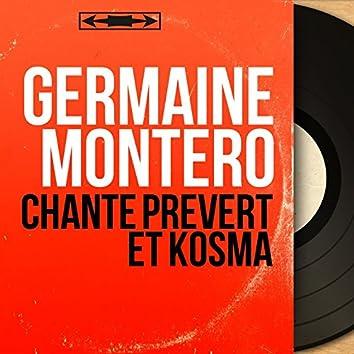 Chante Prévert et Kosma (feat. Philippe Gérard, Henri Crolla) [Mono Version]