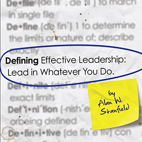 Defining Effective Leadership audiobook cover art