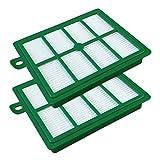Set - 2 Filtro HEPA para Aspiradoras AEG ELECTROLUX Serie Series UltraOne, UltraFlex, VX7, VX8, VX9, LX7