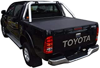 Toyota Hilux SR5 A-Deck (Apr 2005 to Sept 2015) Double Cab with Factory Sports Bars Bunji Tonneau Cover