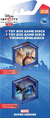 Disney Infinity 2.0 - Marvel Super Heroes : Pack de 2 Power Discs - [Edizione: Francia]
