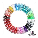 Lot de 24vernis à ongles avec plus de 22 couleurs vives différentes - Parfaite idée cadeau