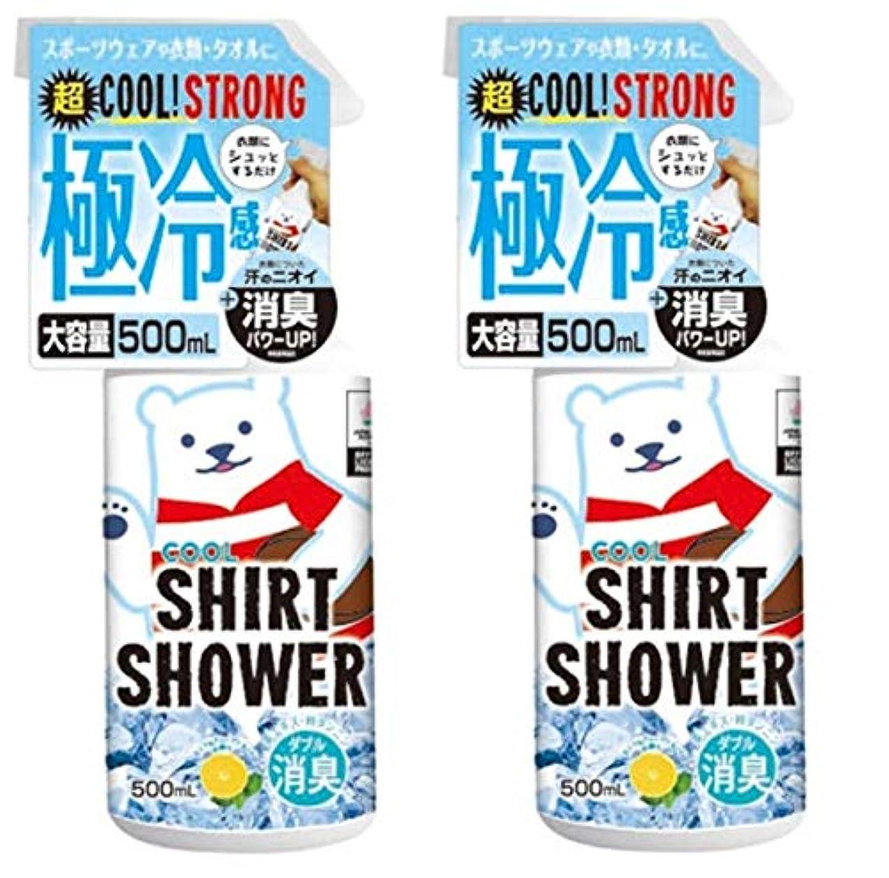 生産的抜け目がない安西【数量限定】ラグビー日本代表コラボ ひんやりシャツシャワー ストロングラグビー 500ml (2個)